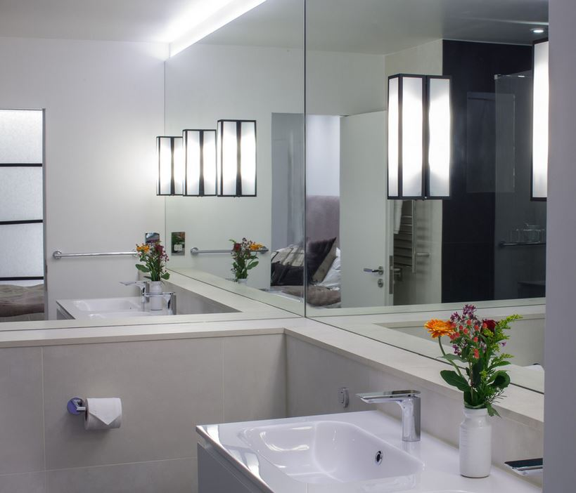 Minimalist Bathroom Images: Clifton Park Glass And Mirrors
